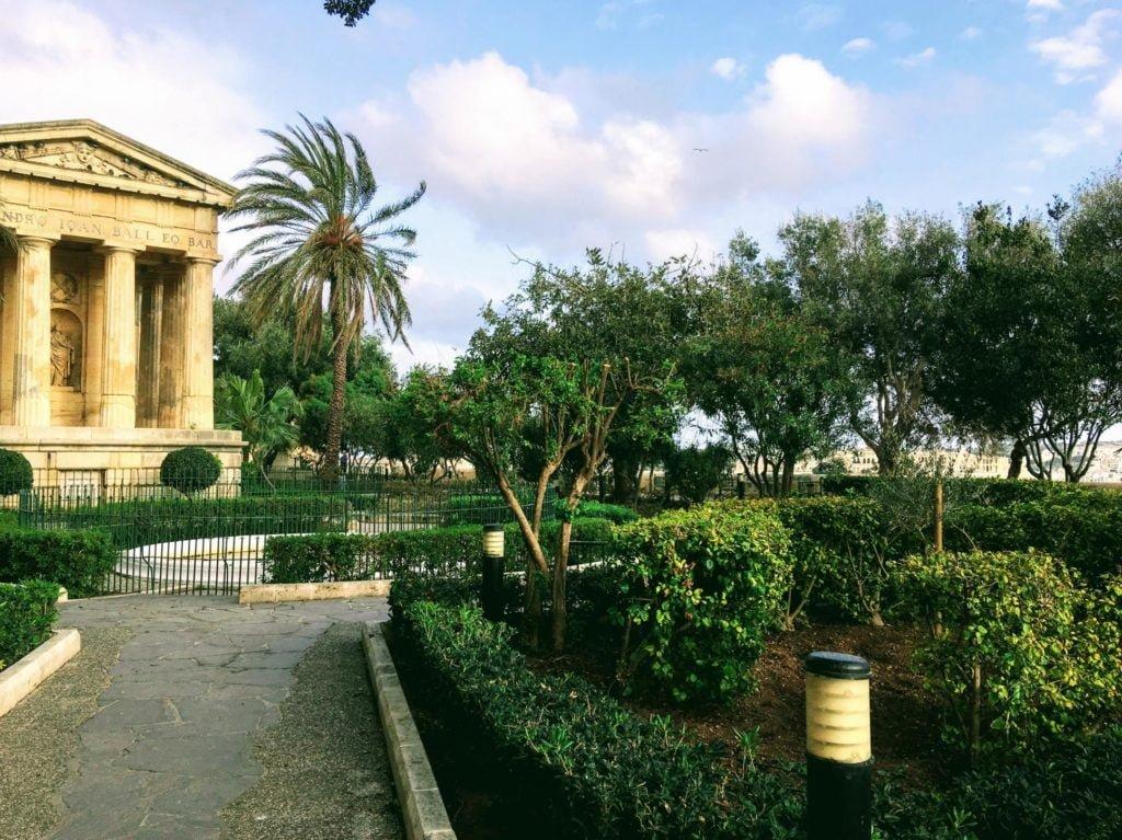 Valletta - Górne ogrody Barrakka