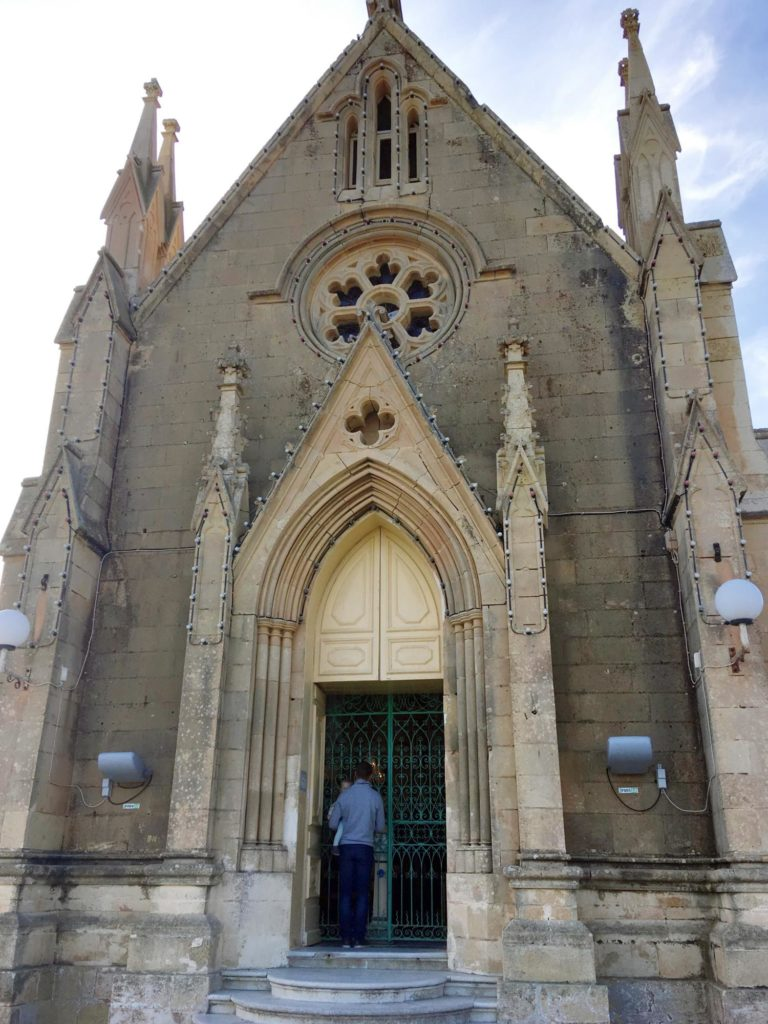 Kosciół Matki Bożej z Lourdes na Gozo
