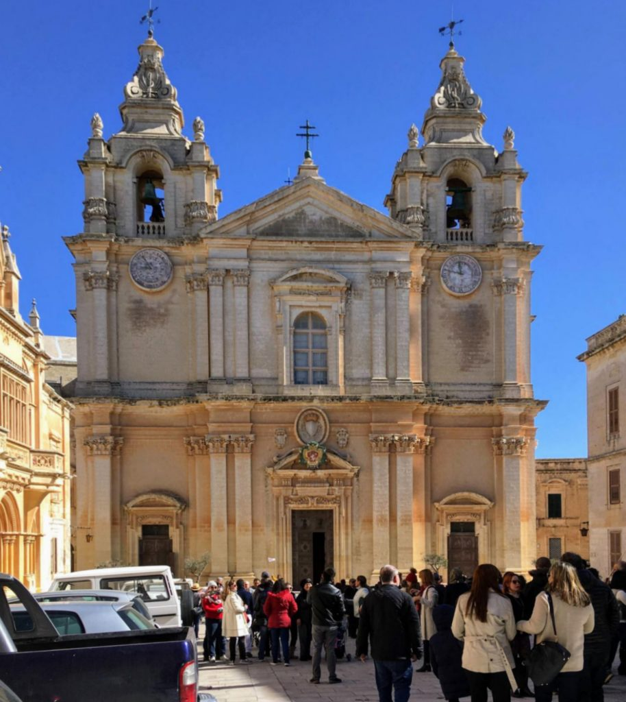 Katedra św. Pawła w Mdinie na Malcie