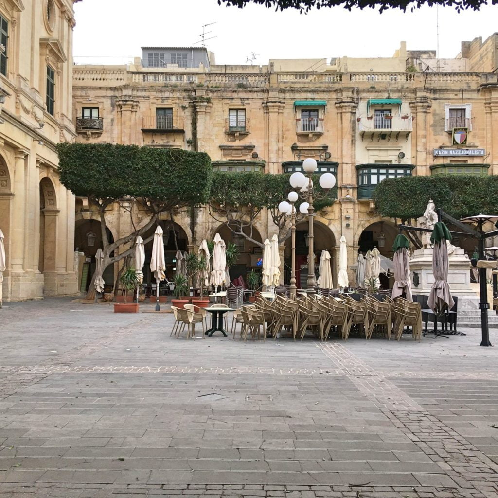 Valletta - Republic Square